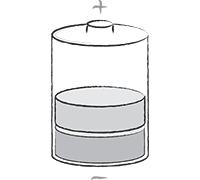 Batterie (halbvoll)