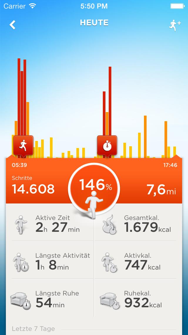 Jawbone Smartphone App