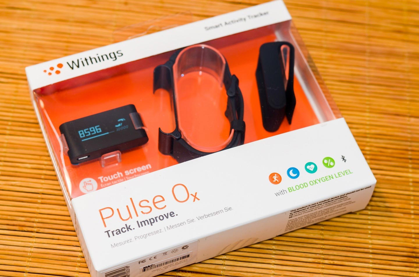 Withings Pulse Ox - Verpackung
