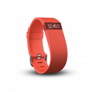 Fitbit Charge HR in Orangerot