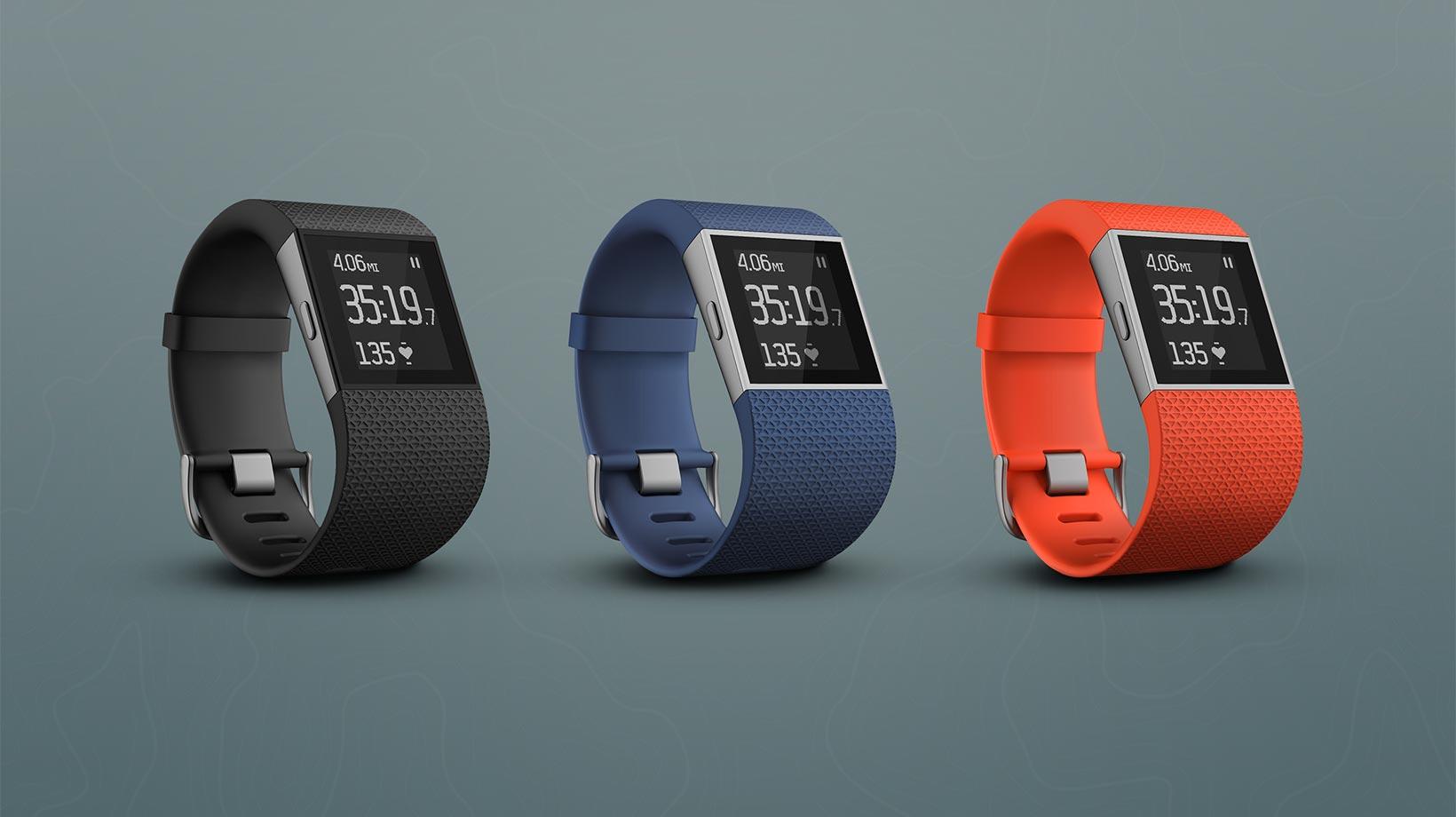Fitbit Surge - Neue Farben