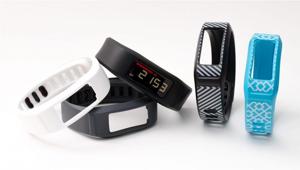 Garmin vivofit2 Armbänder in verschiedenen Farben