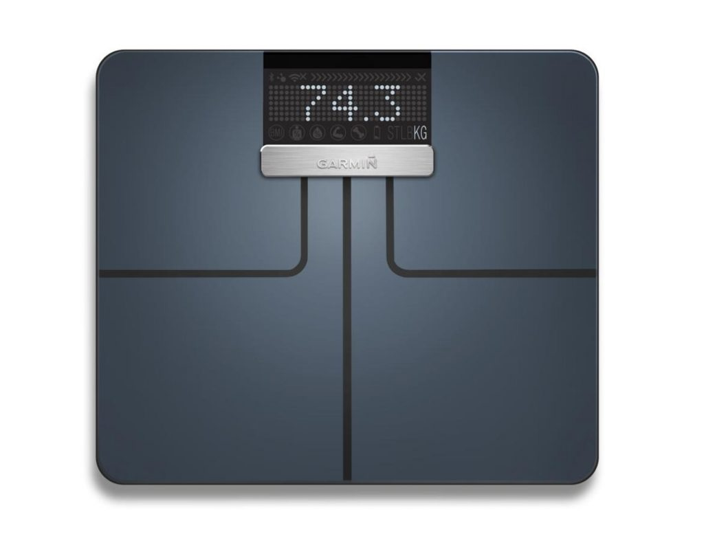 Garmin Index Smart Scale in Schwarz