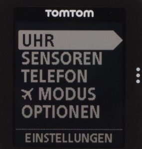TomTom Runner Cardio - Display
