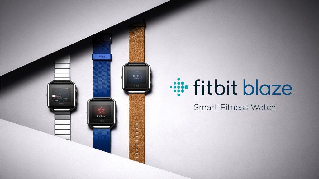 Fitbit Blaze - Produktfamilie (Bildquelle: www.fitbit.com)