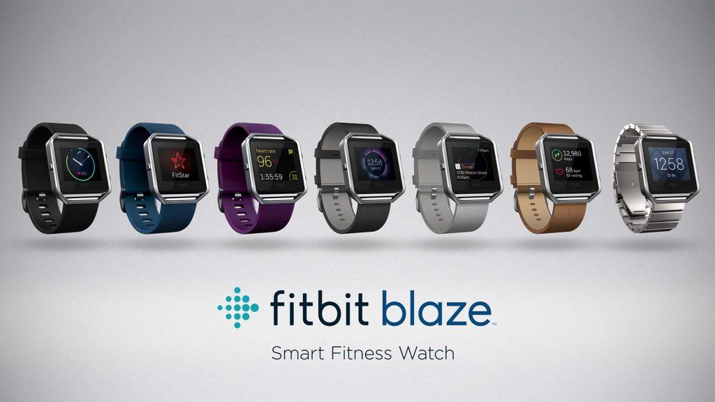 Fitbit Blaze - Lineup (Bildquelle: www.fitbit.com)