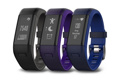 Garmin vivosmart HR+ Line Up