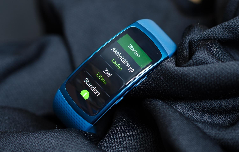 Samsung Gear Fit 2 - Sportmodus