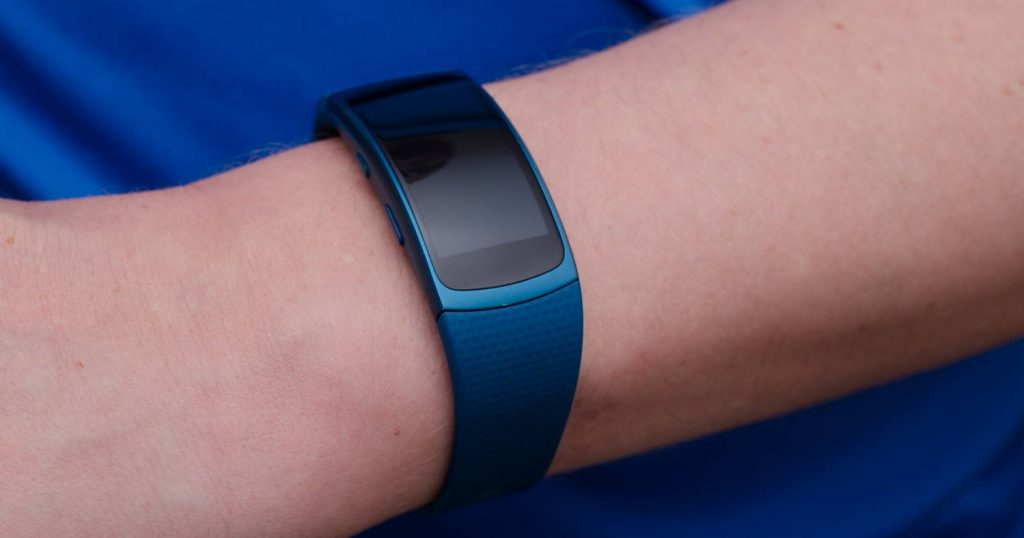 Samsung Gear Fit 2 - Blaue Variante