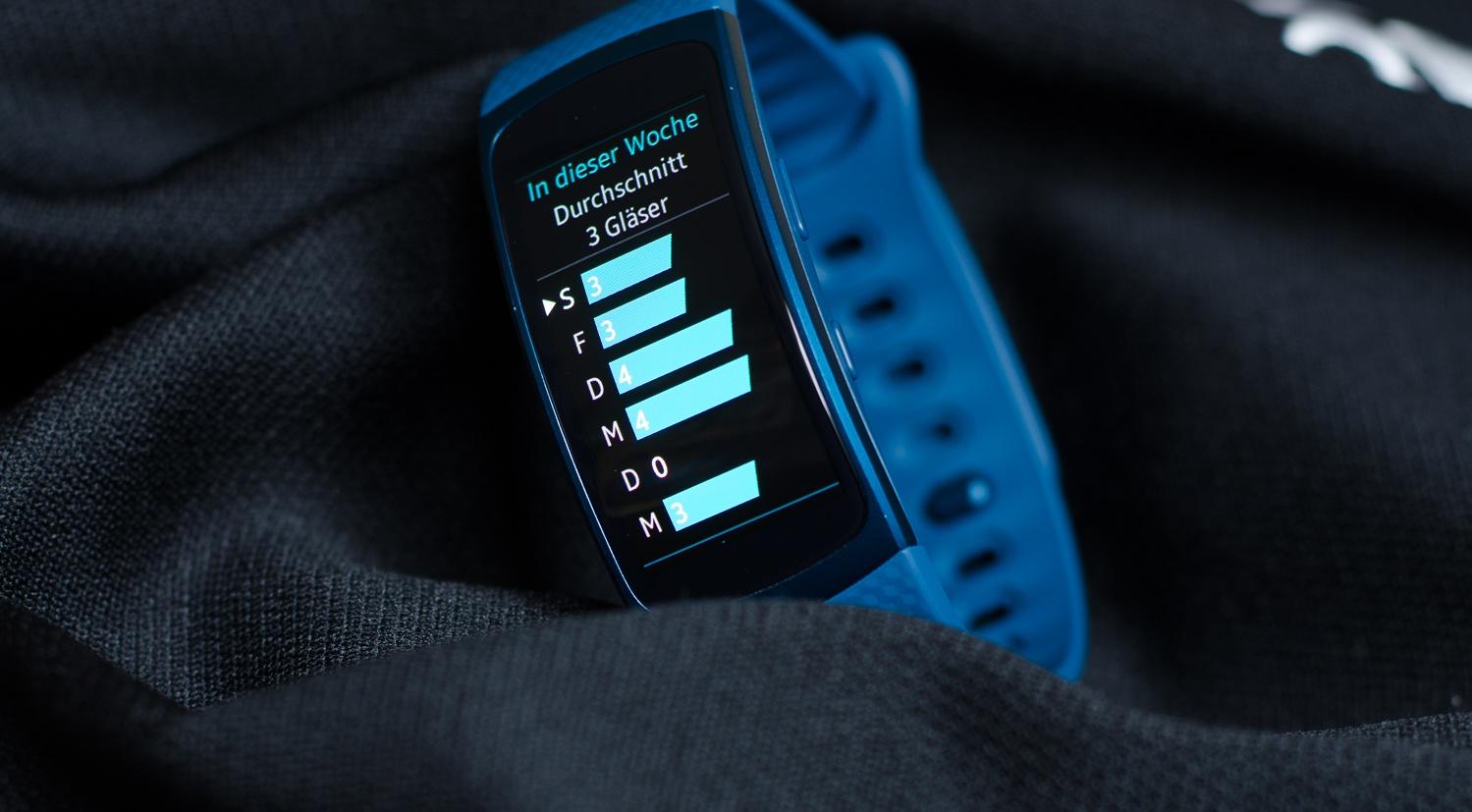 Samsung Gear Ffit 2 - Protokoll