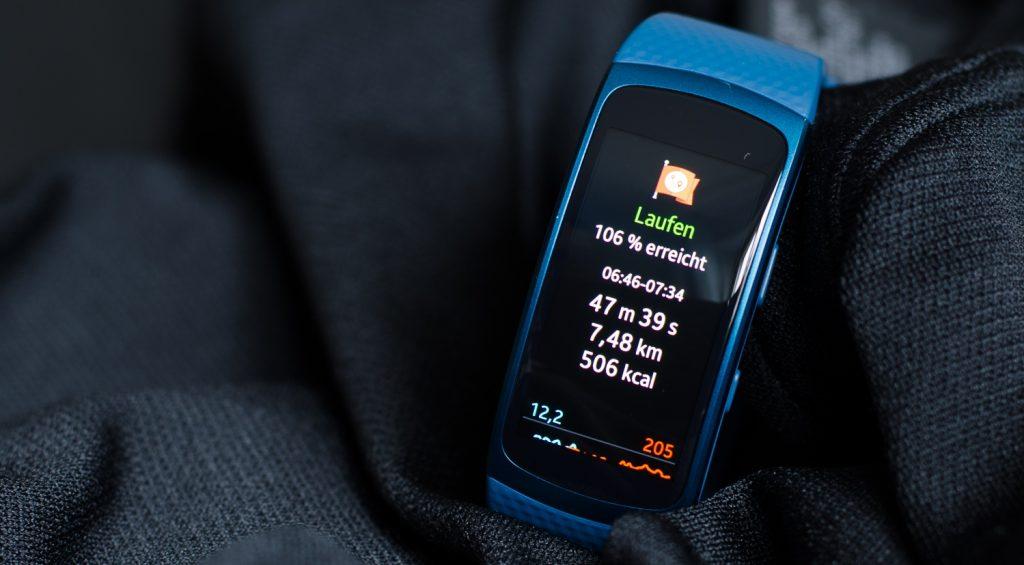 Samsung Gear Fit 2 im Test