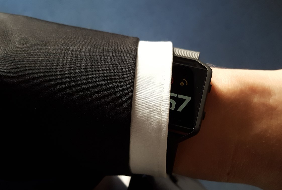Fitbit Blaze - Schlankes Profil