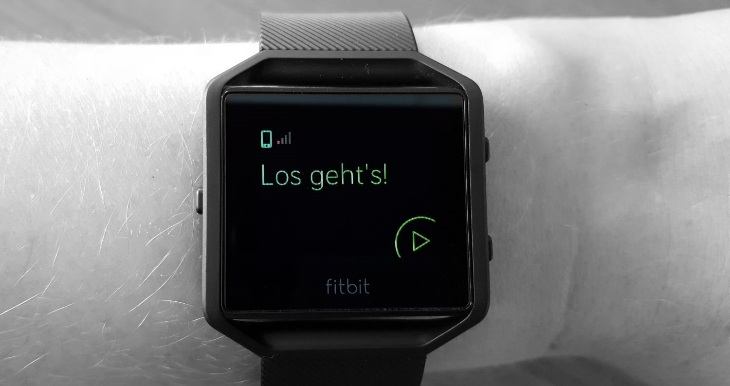 Fitbit Blaze - Connected GPS