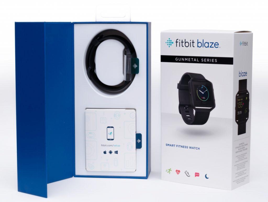 Fitbit Blaze - Lieferumfang