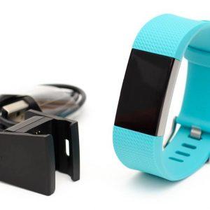 Fitbit Charge 2 mit Ladeklemme