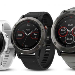 Garmin fēnix 5: Highend GPS-Multisport-Uhr in drei Varianten