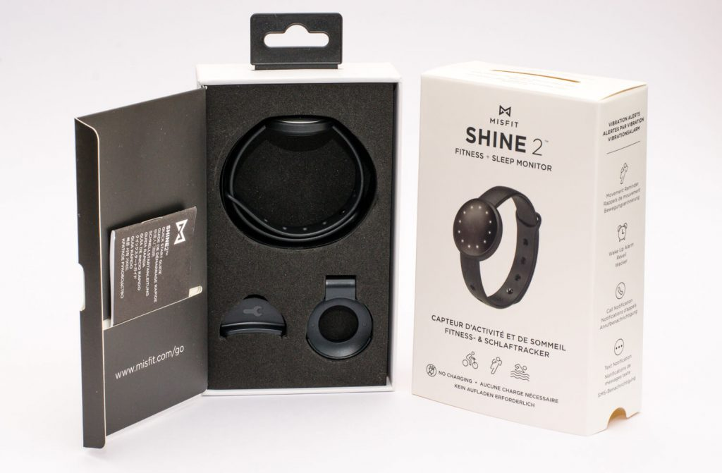 Misfit Shine 2 - Lieferumfang