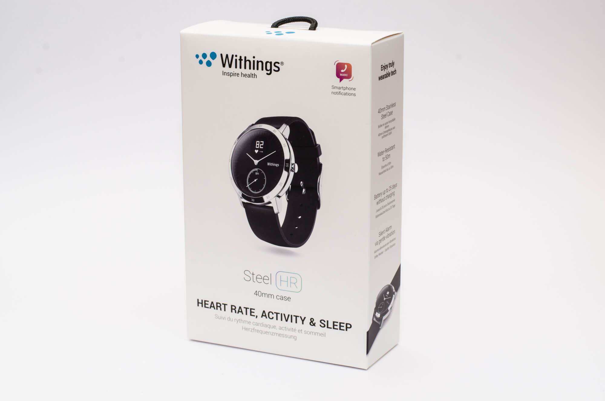 Withings Steel HR - Verpackung