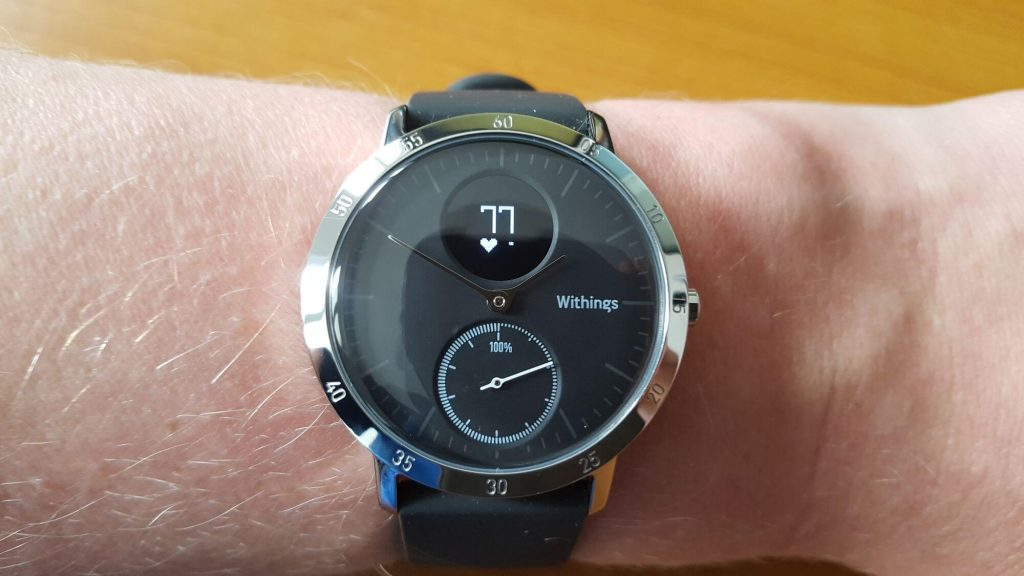 Withings Steel HR - Herzfrequenz