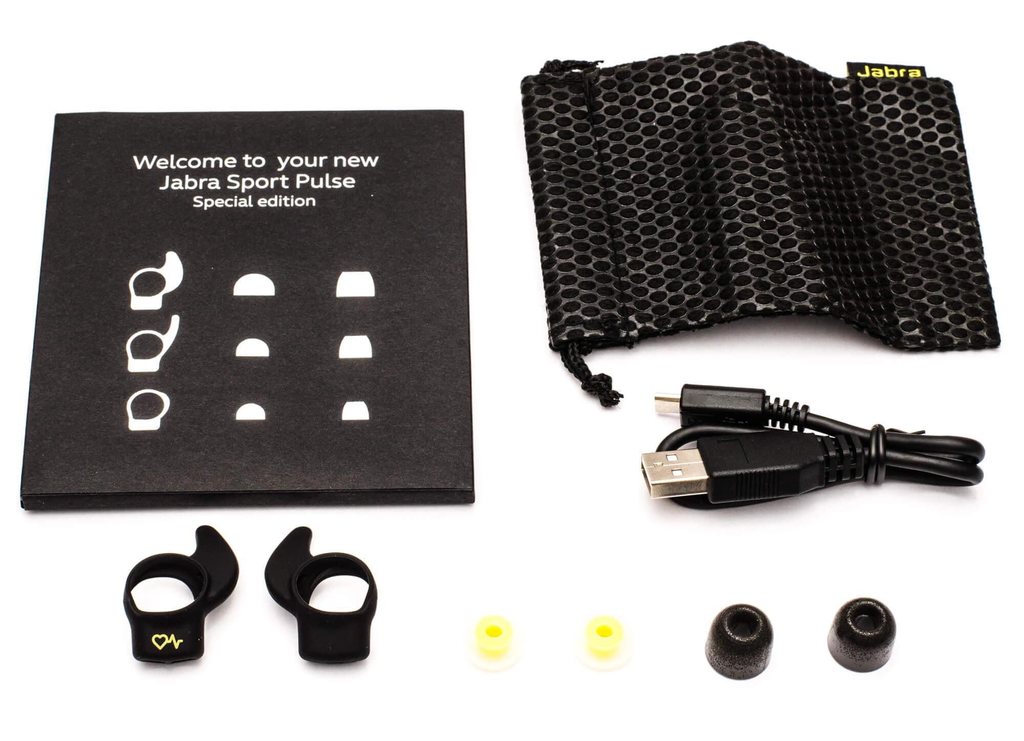 Jabra Sport Pulse - Verpackungsinhalt