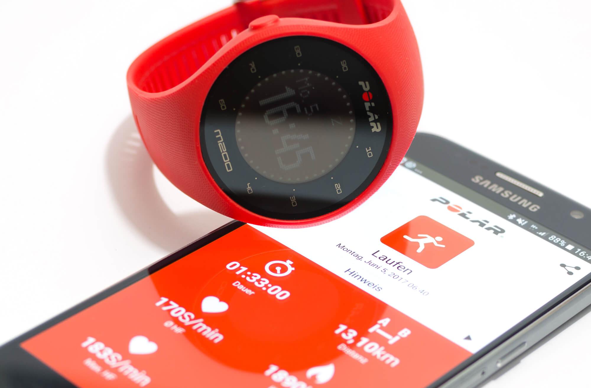 Sportuhr Intervall : Polar m test mehr gps sportuhr für einsteiger denn smartwatch