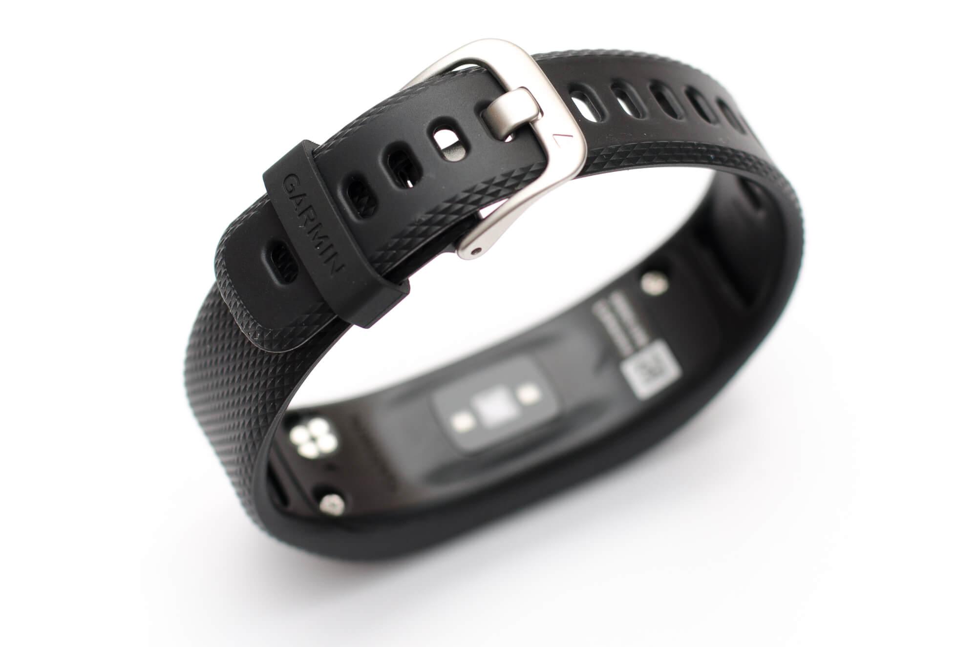 Garmin vivosmart 3 - Verschluss des Armbands