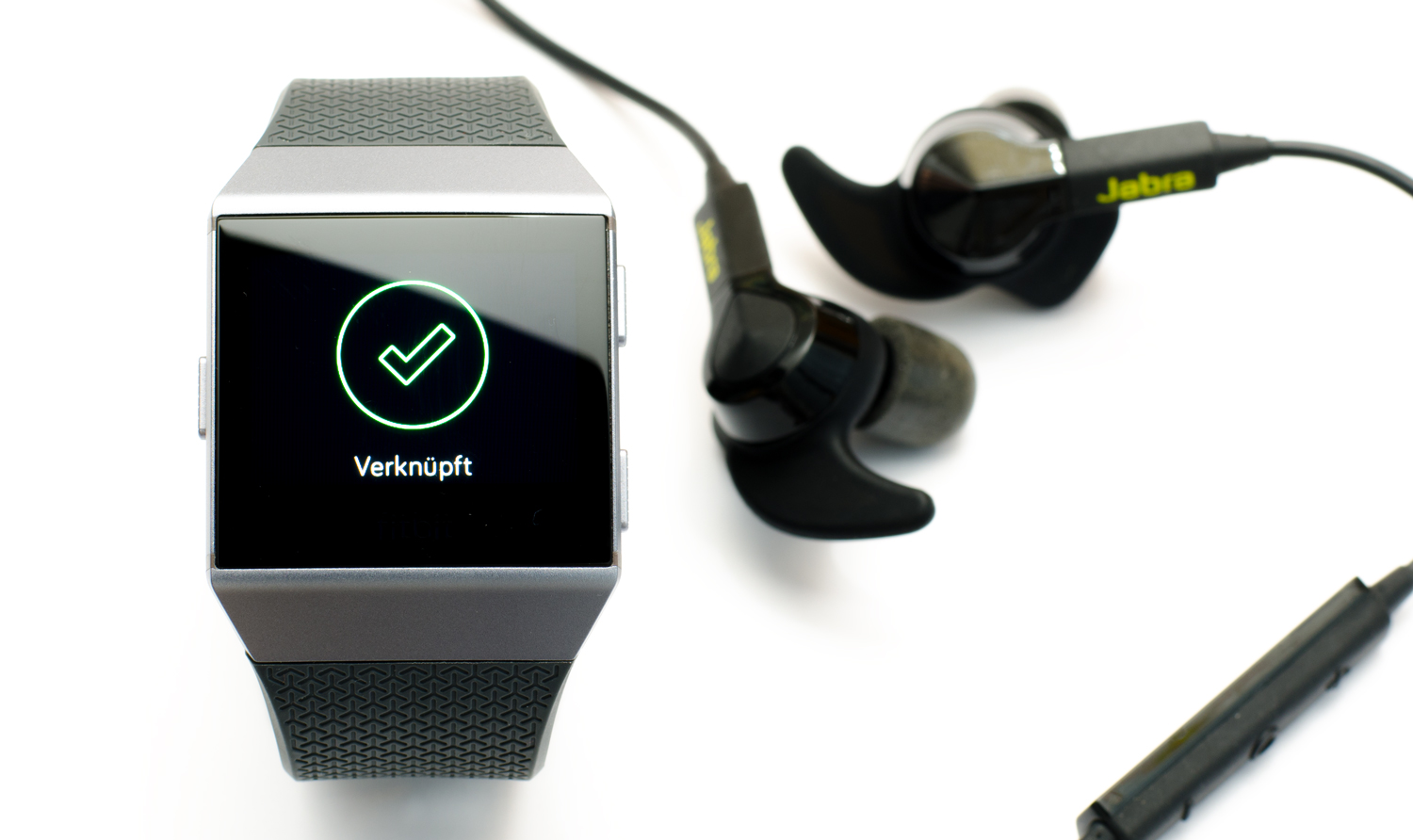 Fitbit Ionic - Musiksteuerung