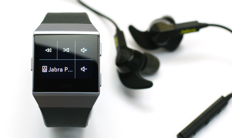 Fitbit Ionic - Musiksteuerung