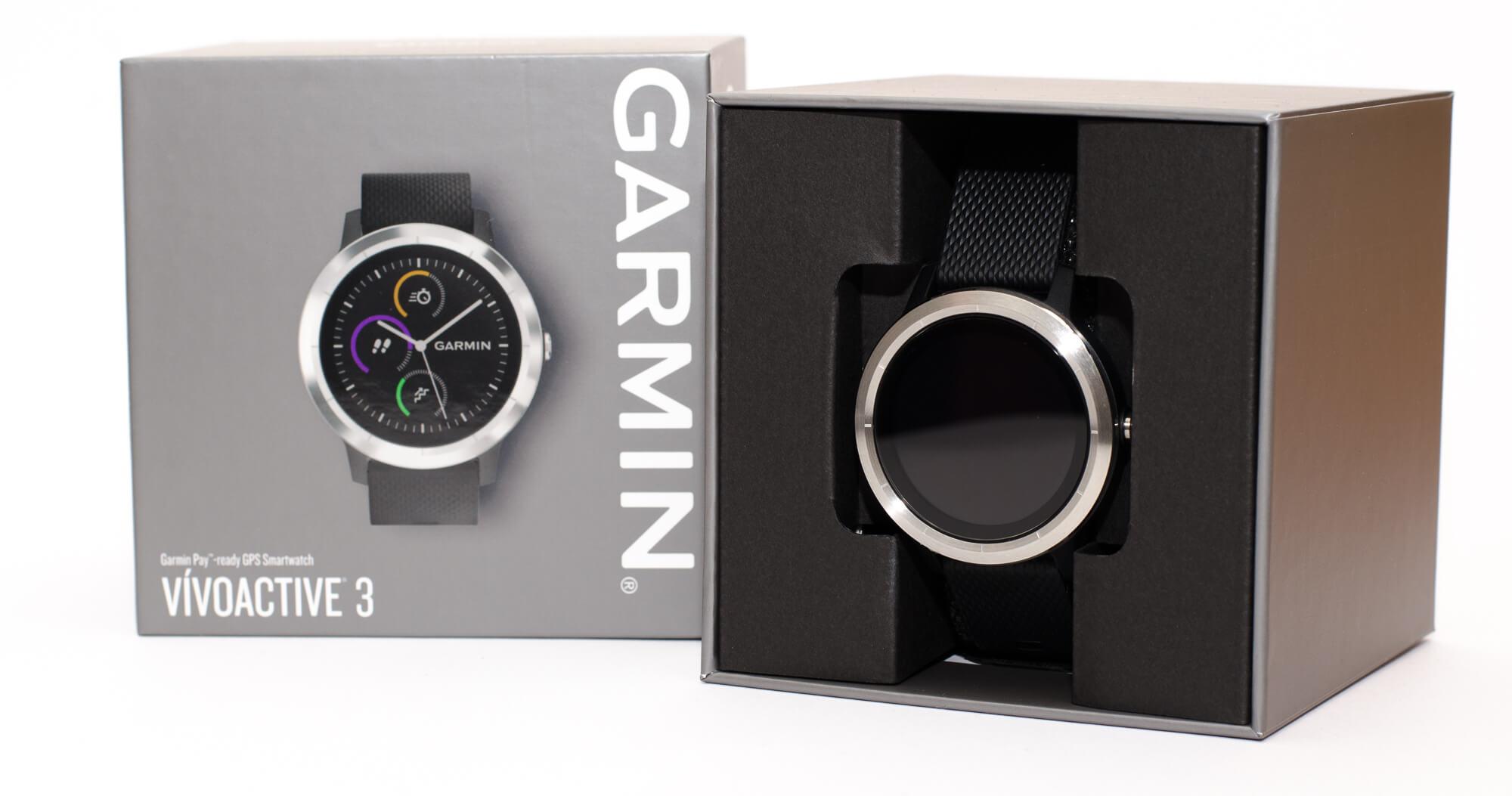 Garmin vivoactive 3 - Verpackung