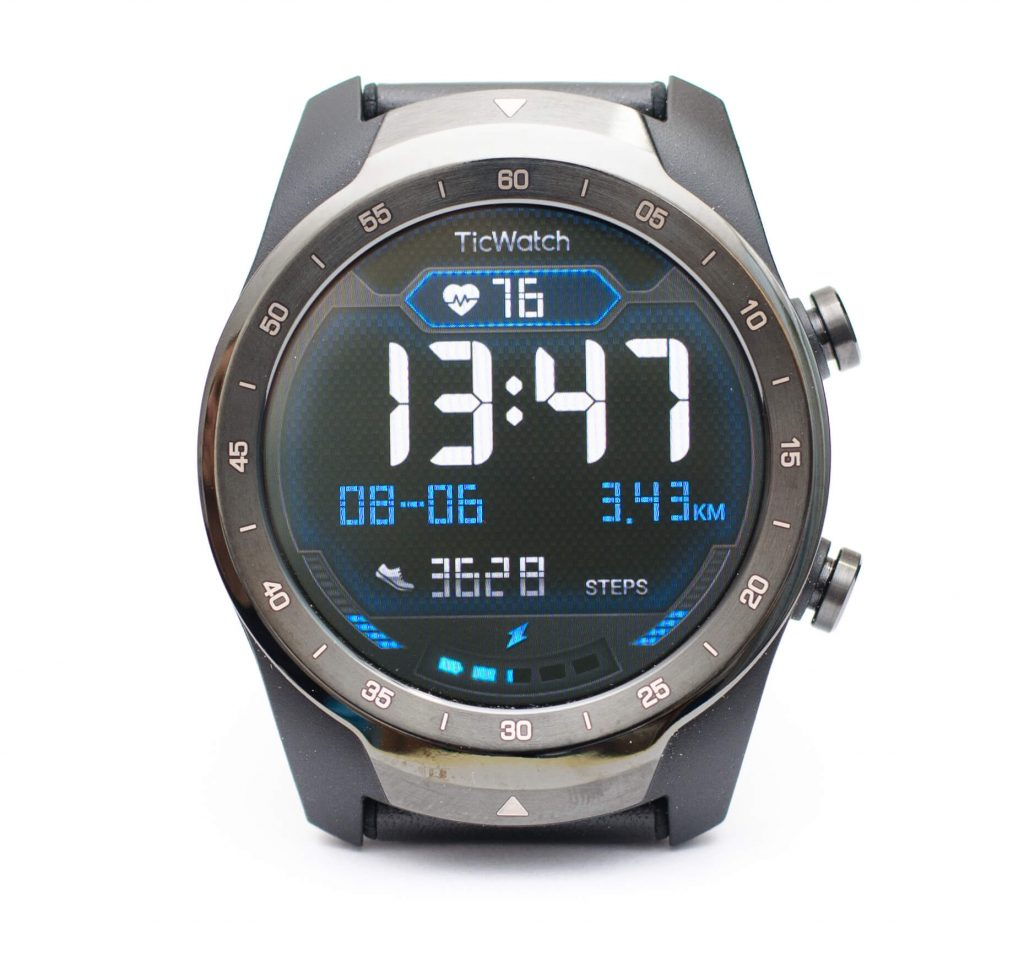 Mobvoi TicWatch Pro - OLED-Display