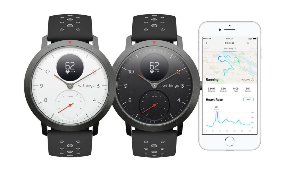 Withings Steel HR Sport (Quelle: Withings)