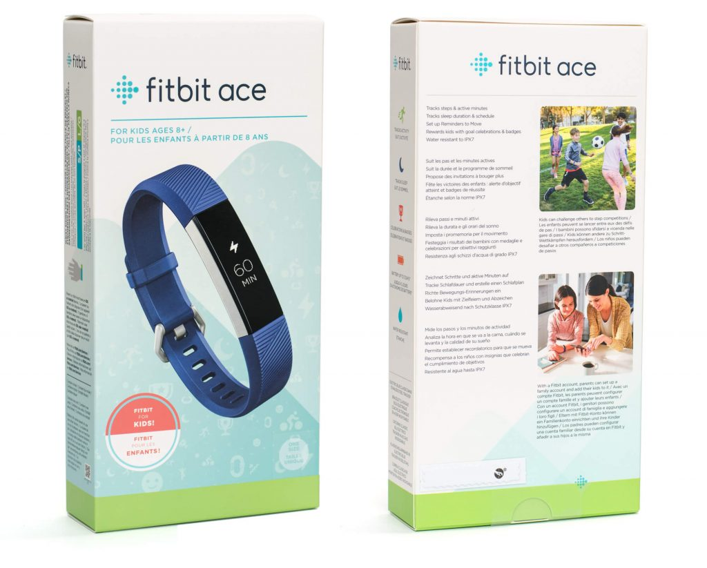 Fitbit Ace - Verpackung
