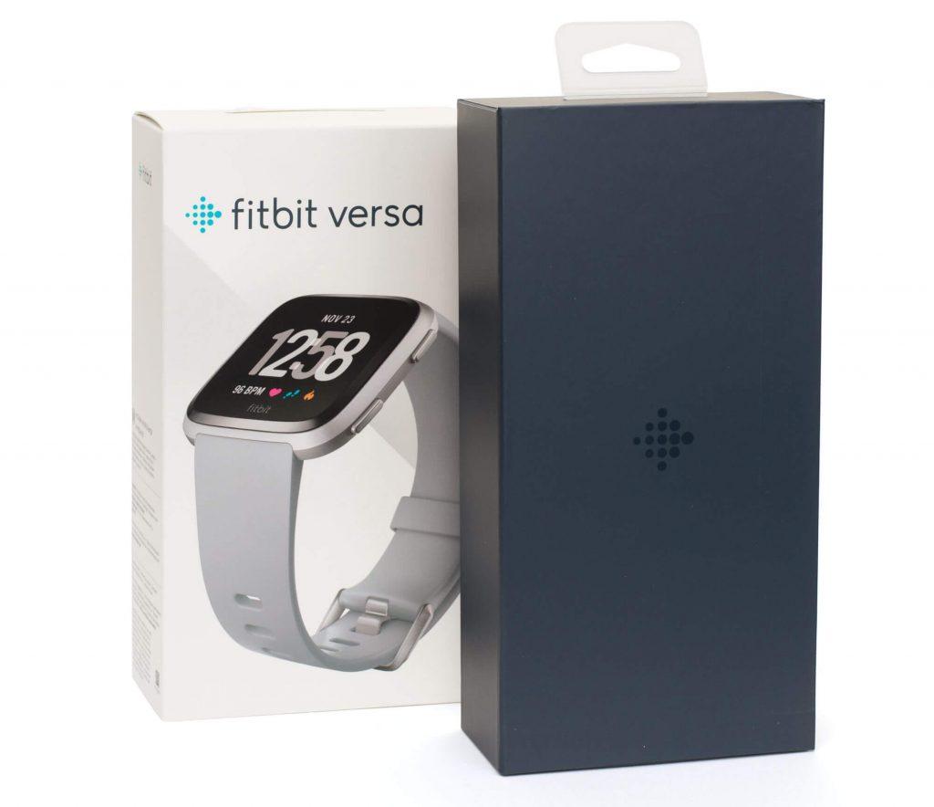 Fitbit Versa - Verpackung