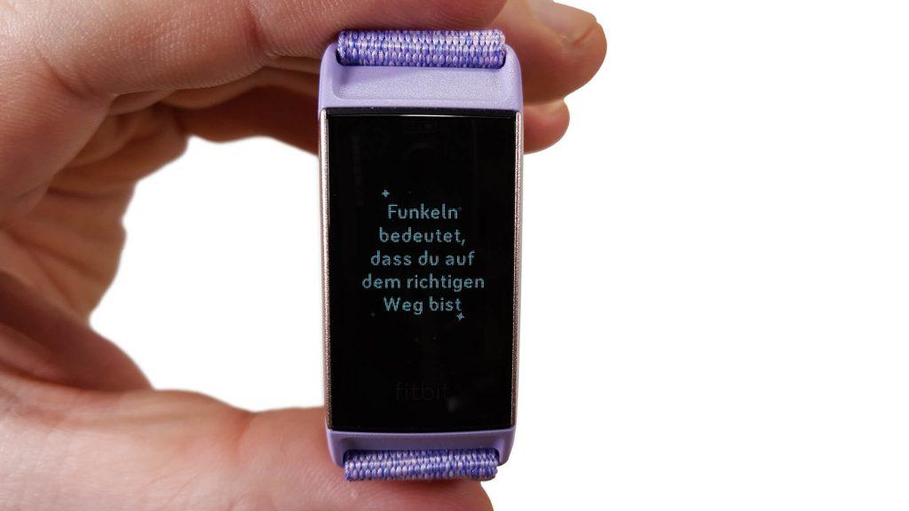 Fitbit Charge 3 - Atemübung