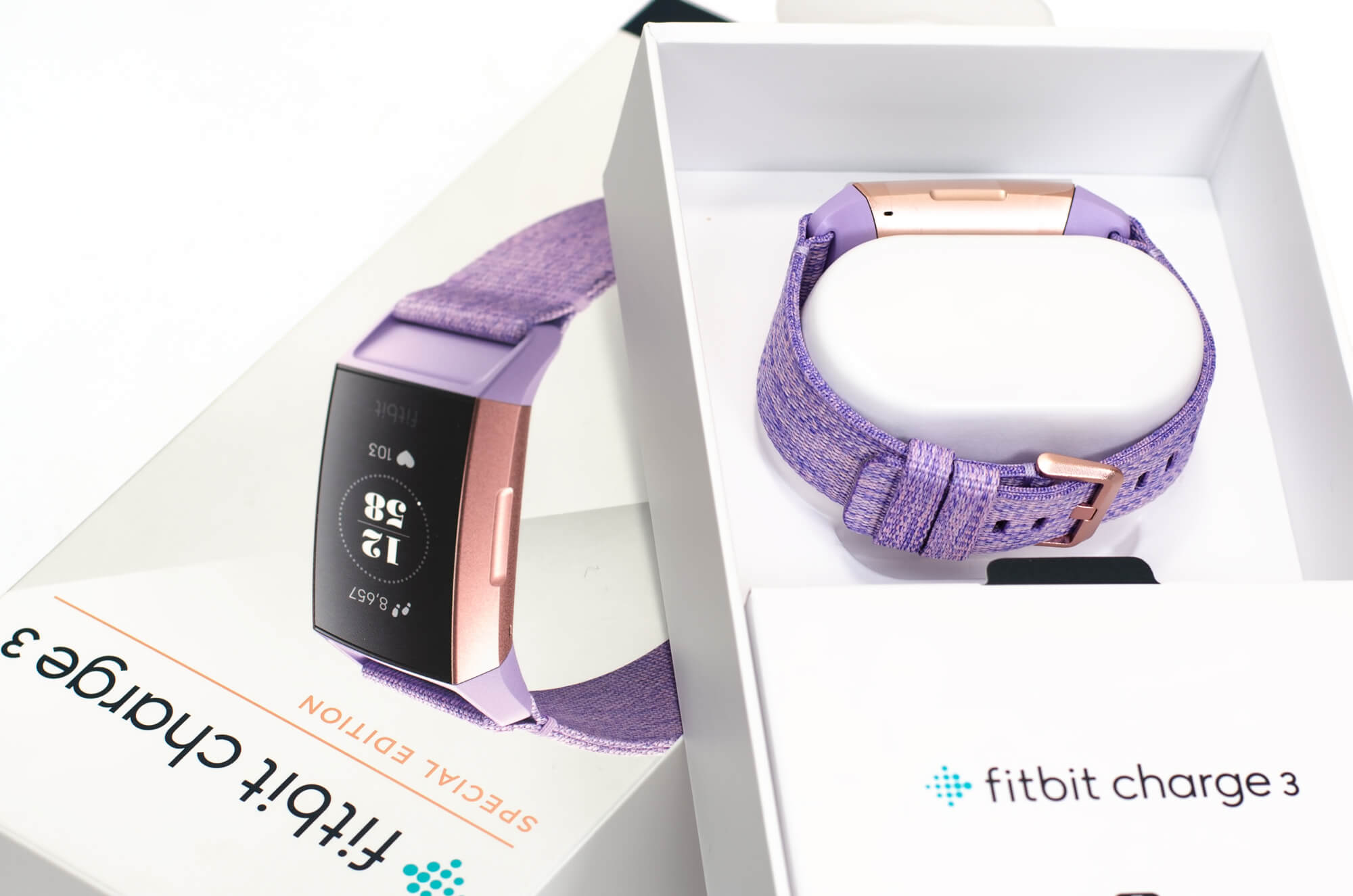 Fitbit Charge 3 - Verpackungsinhalt