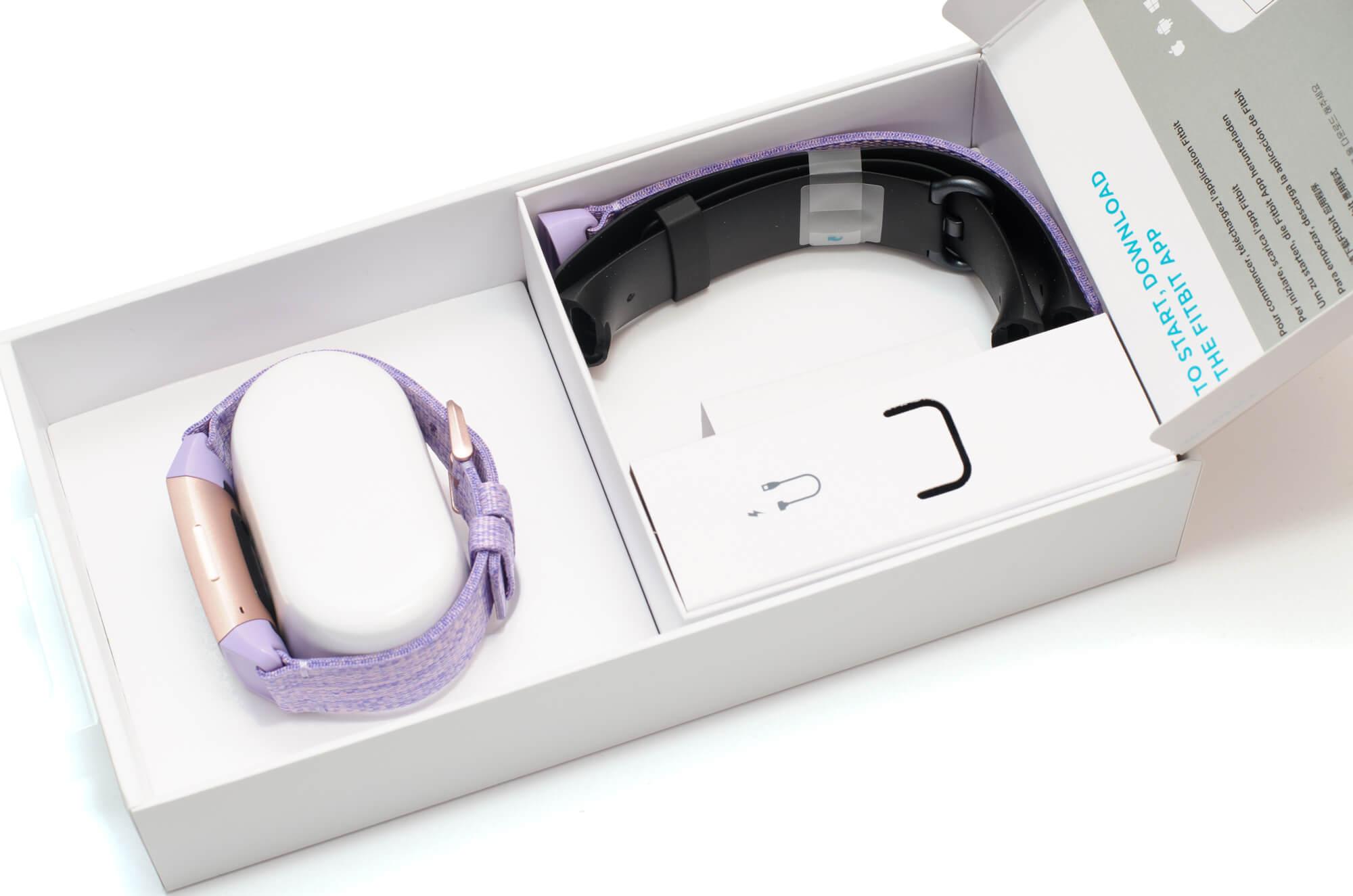Fitbit Charge 3 - Verpackungsinhalt