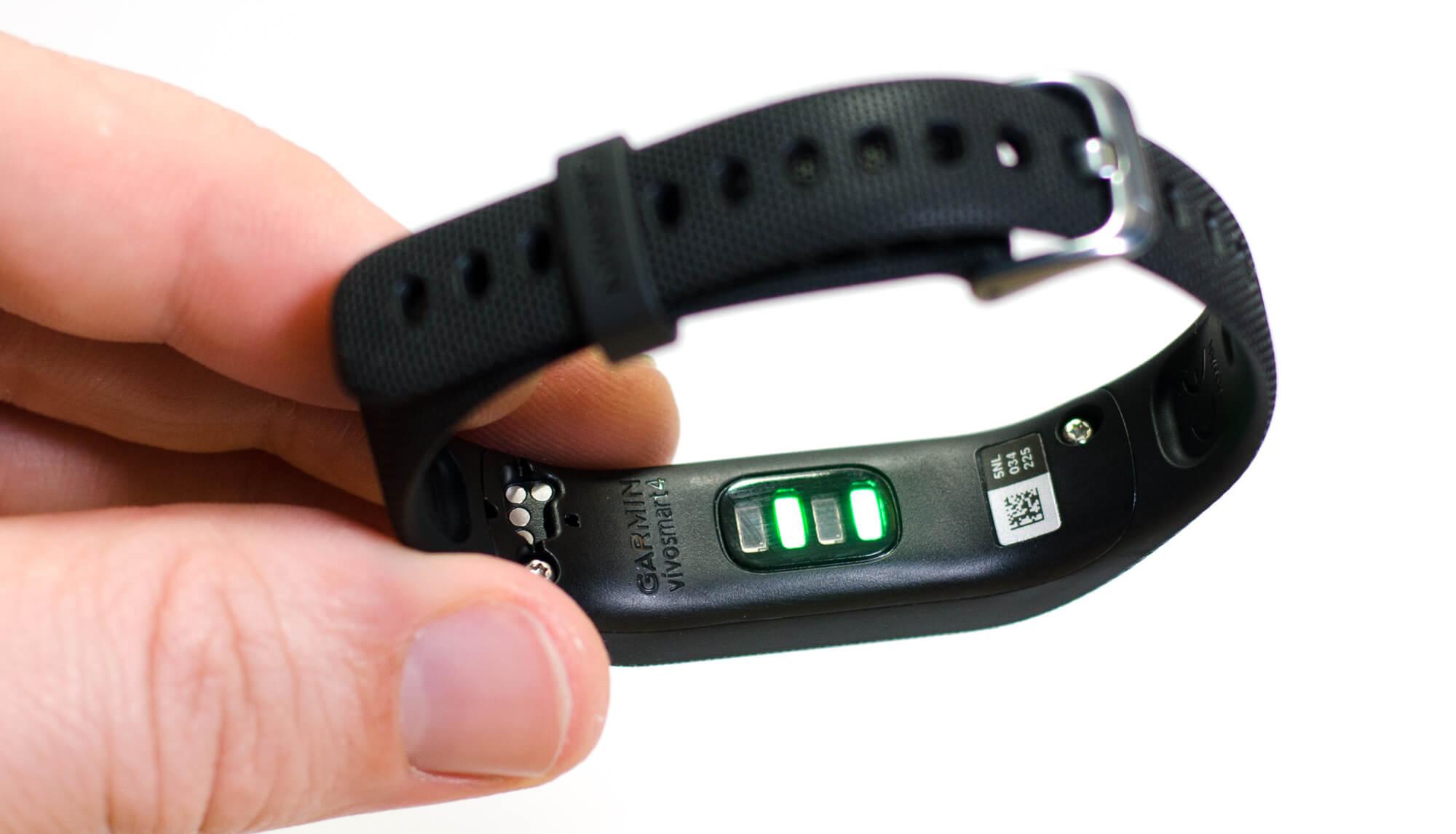 Garmin vivosmart 4 - Sensoren