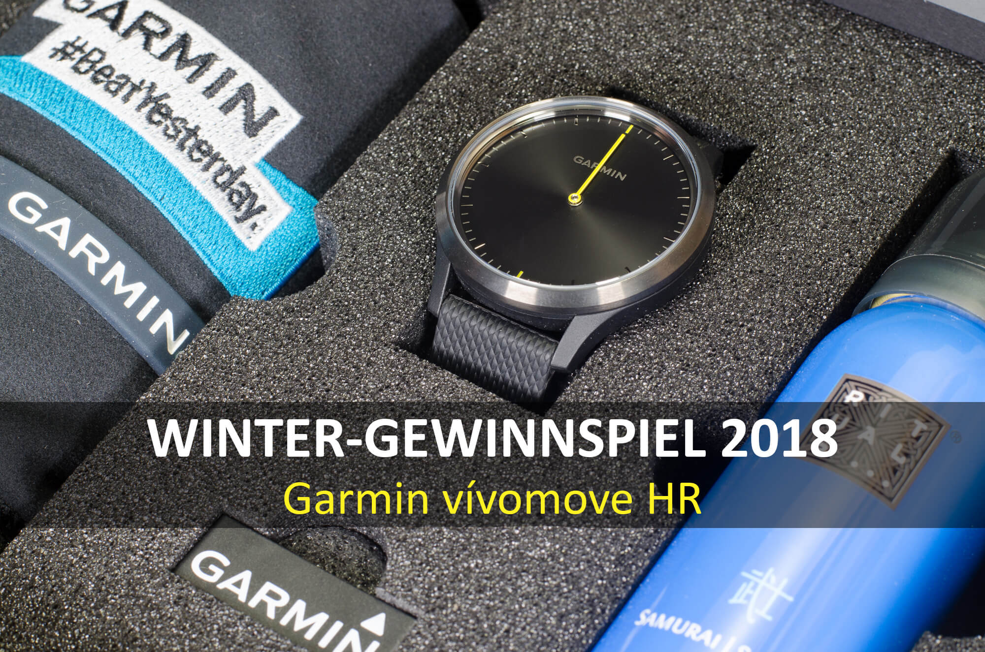 winter gewinnspiel 2018 gewinne eine garmin v vomove hr. Black Bedroom Furniture Sets. Home Design Ideas