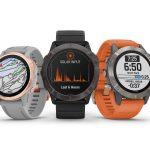 Garmin Fenix 6 - Premium-GPS-Sportuhr mit Solartechnik vorgestellt