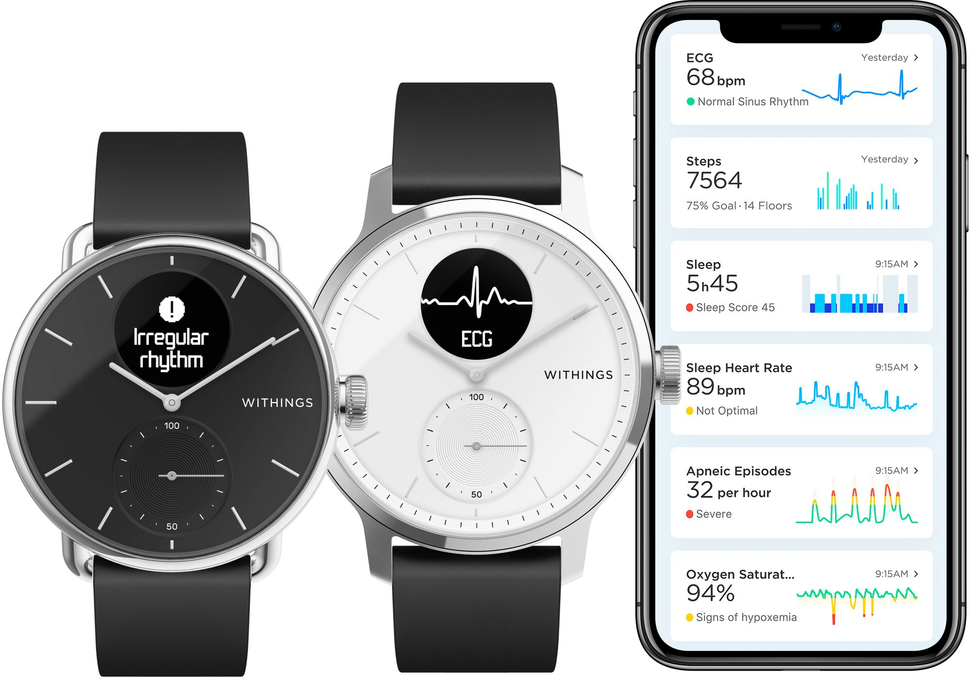 Withings ScanWatch (Quelle: Withings)