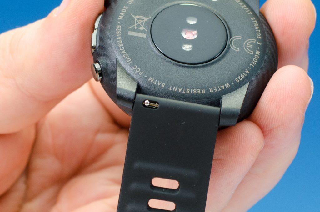 Amazfit Stratos 3 - Springsteg für Armbandwechsel