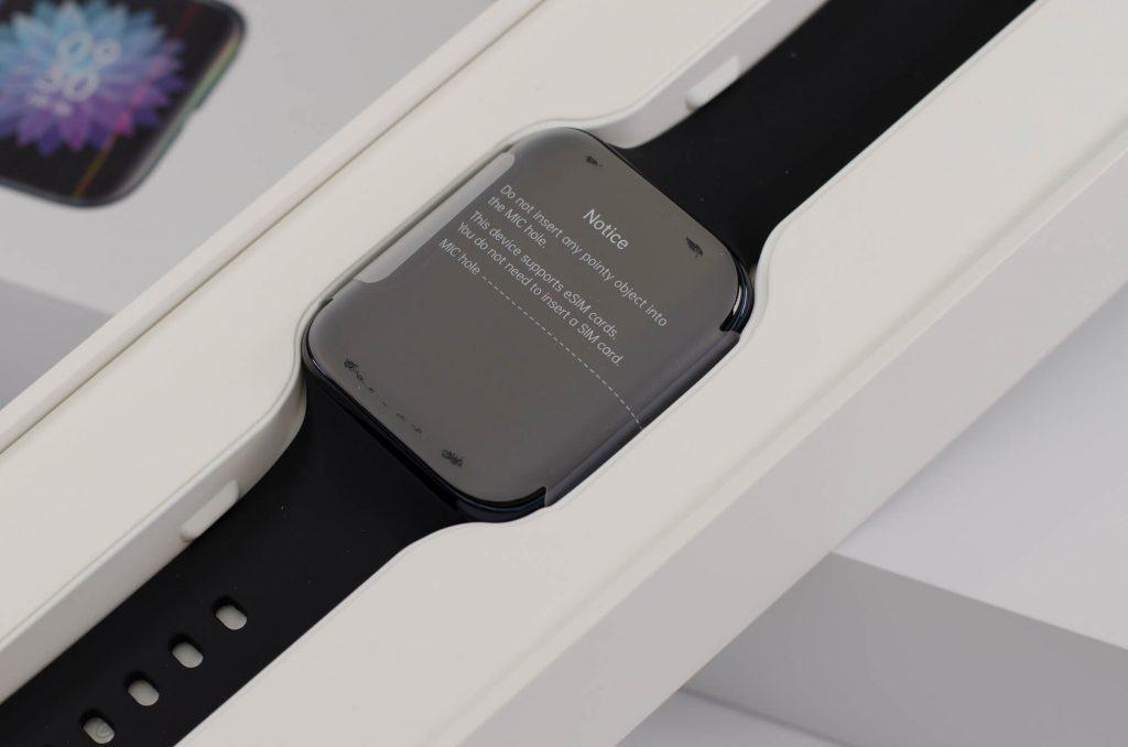 Oppo Watch - Smartwatch in der Verpackung