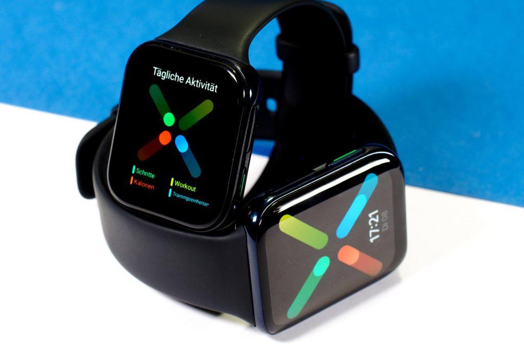 Oppo Watch - Smartwatch in 41 mm und 46 mm