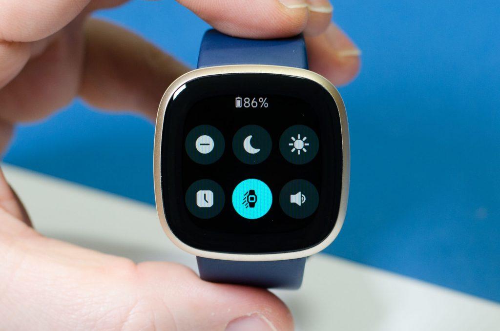 Fitbit Versa 3 - Schnell-Einstellungen