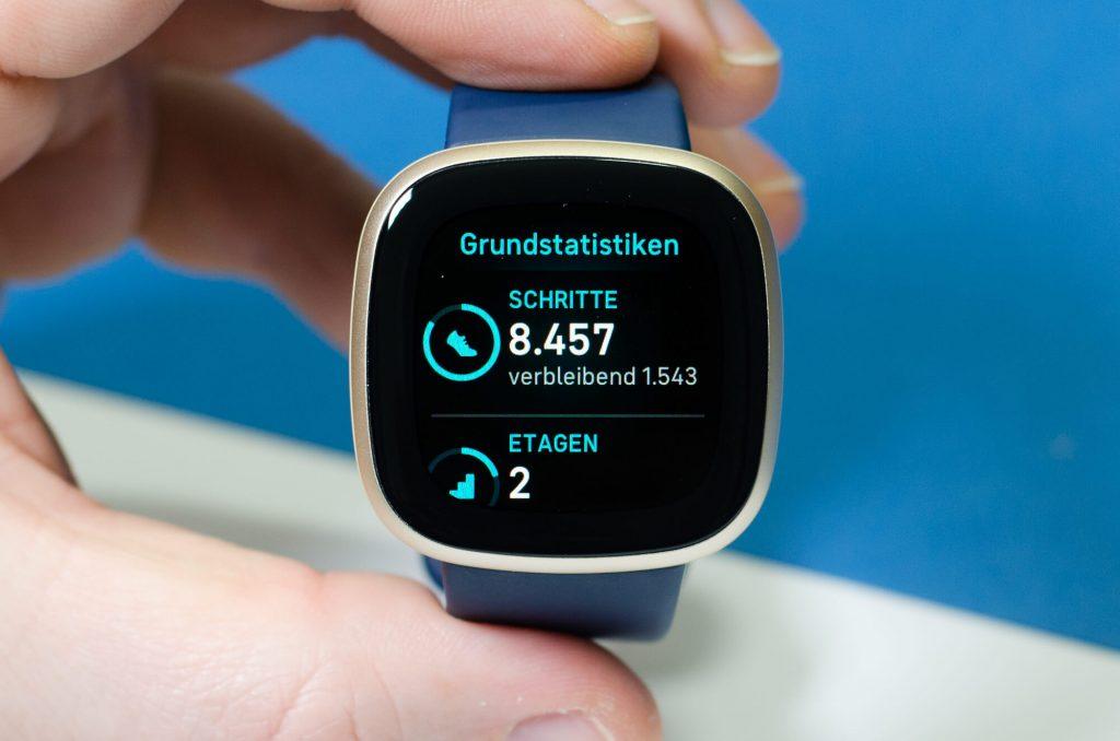Fitbit Versa 3 - Widget-Ansicht