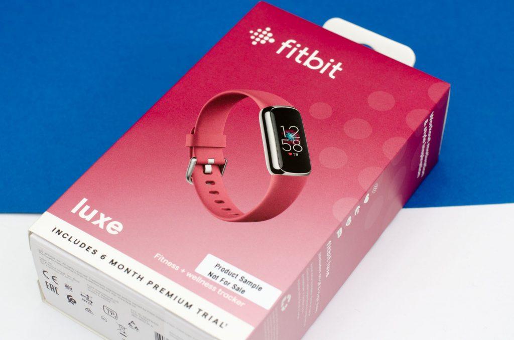 Fitbit Luxe - Verpackung