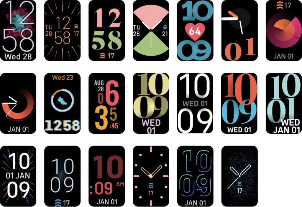 Fitbit Luxe - Watchfaces
